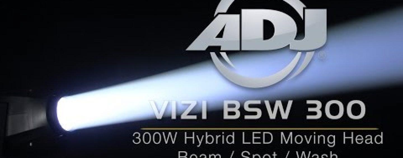 ADJ lanza nuevo cabezal móvil Vizi BSW 300