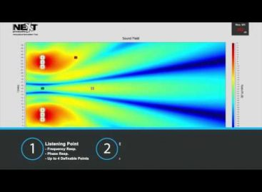 NEXT-proaudio lanzó Acoustical Simulation Tool