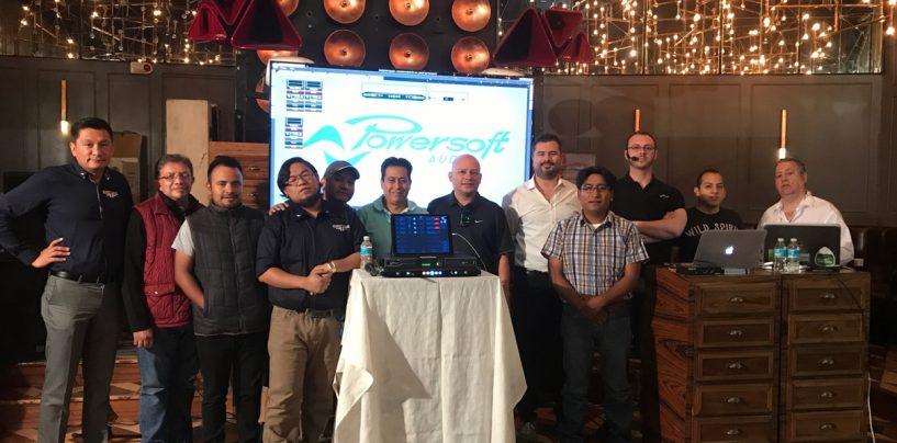 Seminarios Powersoft en México y Guatemala