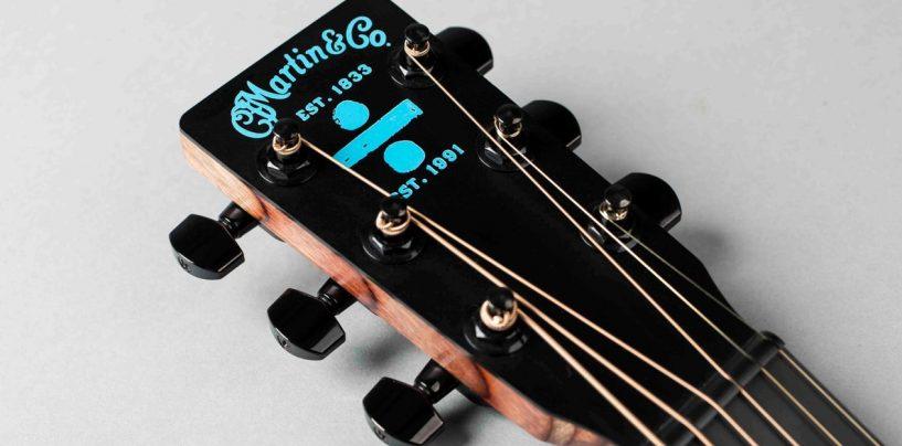 Nueva guitarra Ed Sheeran ÷ Signature Edition de Martin Guitar