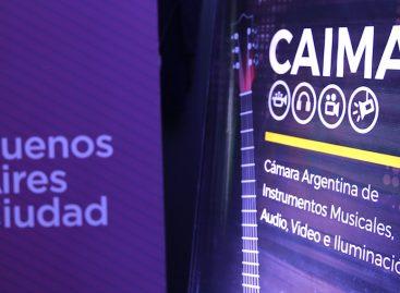 CAIMAVI presentó La Semana de la Música en Argentina