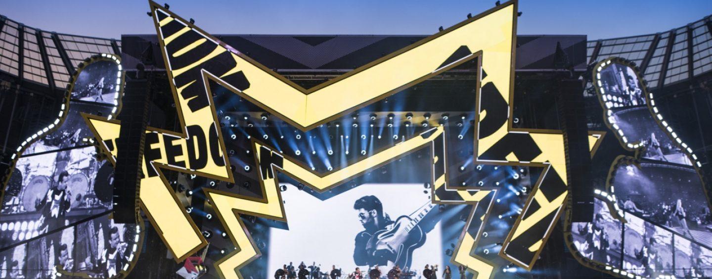 IntelliPix-XT de Ayrton acompaña a Robbie Williams en su más reciente gira