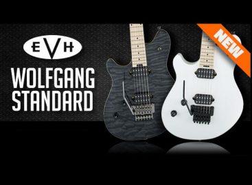 EVH anunció nuevos modelos EVH Wolfgang WG Standard para zurdos