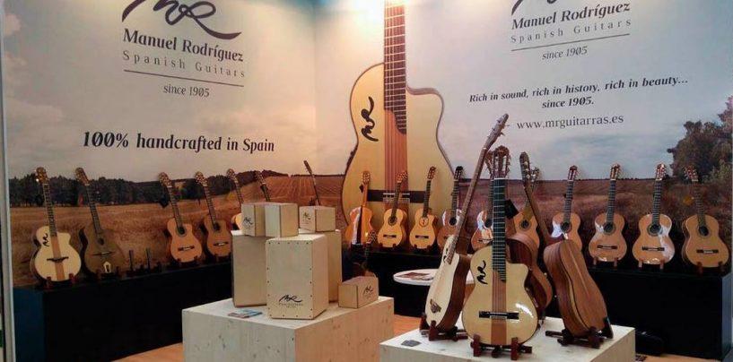Guitarras Manuel Rodríguez se asocia con Guitar Center
