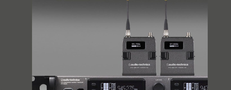 Disponible nuevo sistema inalámbrico de la serie 6000 de Audio-Technica