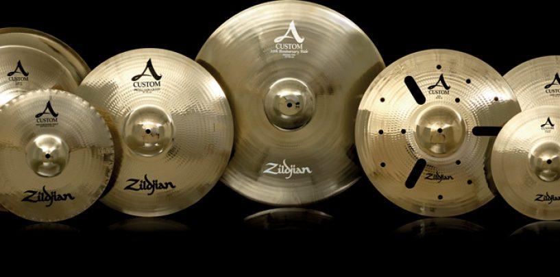 Zildjian celebra aniversario de la serie A Custom