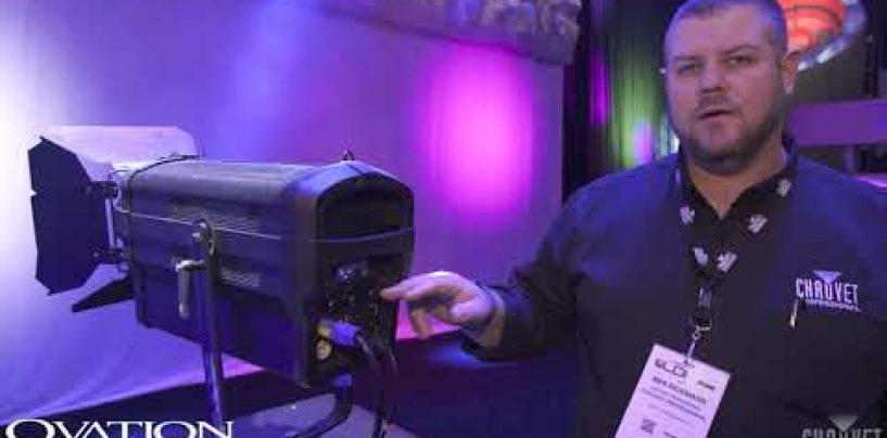 Conociendo la luminaria Ovation E-930VW de Chauvet Professional