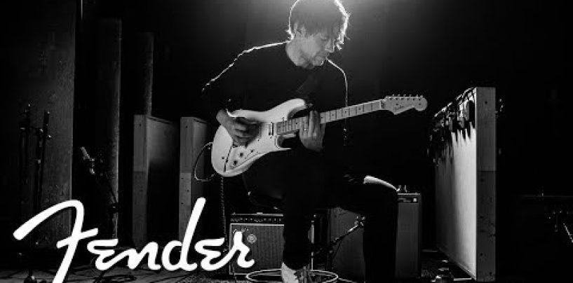 Fender presenta la EOB Sustainer Stratocaster