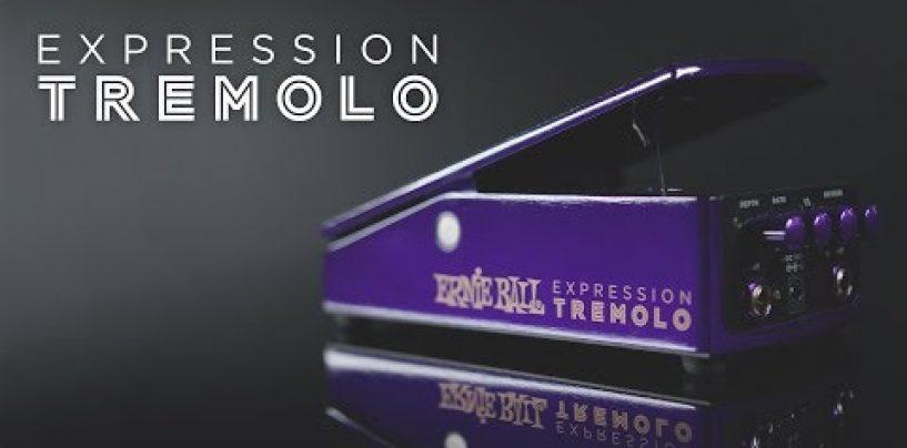 Ernie Ball presenta su nuevo pedal Expression Tremolo
