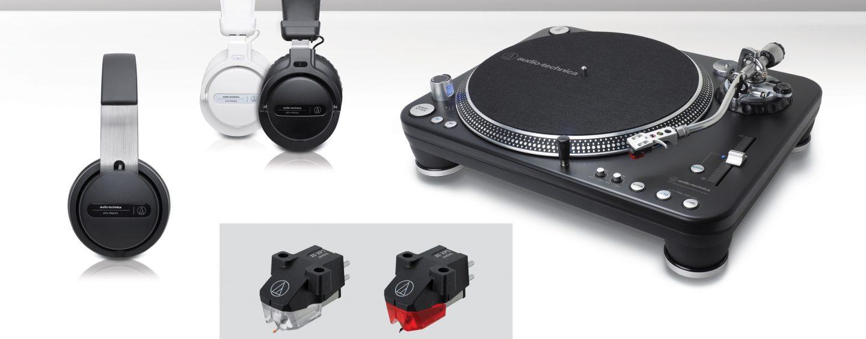 Audio-Technica expuso nueva línea de productos para DJ