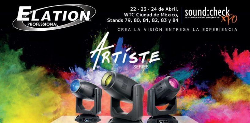 Elation Professional va México para sound:check Xpo
