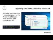 Nuevo firmware disponible para el sistema digital para conferencias ATUC-50 de Audio-Technica