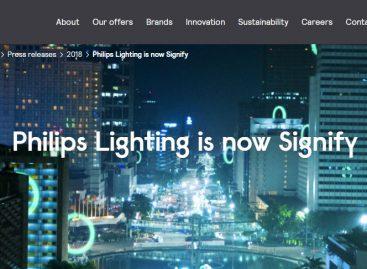 Philips Lighting ahora es Signify
