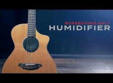 Screeching Halt, el nuevo humidificador de D'Addario Accesories