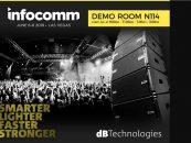 VIO de dBTechnologies va a Las Vegas para asistir a InfoComm 2018