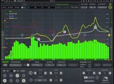 Disponible el complemento de calibración de sistema TRACT y la calibración del sistema TRACT + Smaart Di v2 Bundle Waves Audio