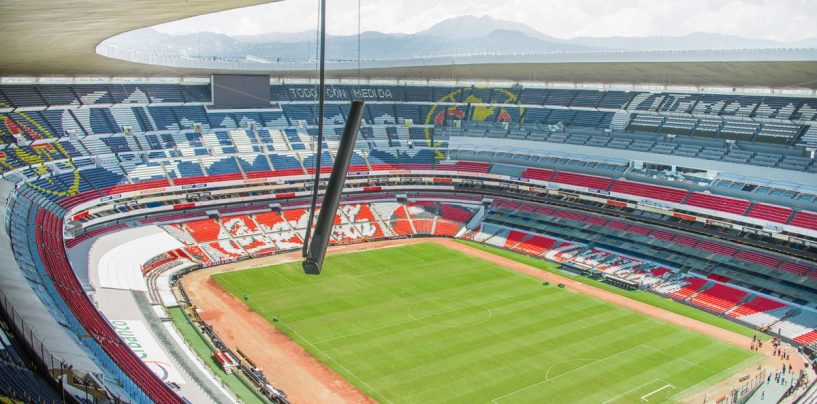 El sistema Meyer Sound Cal está en la acción del Estadio Azteca de Ciudad de México