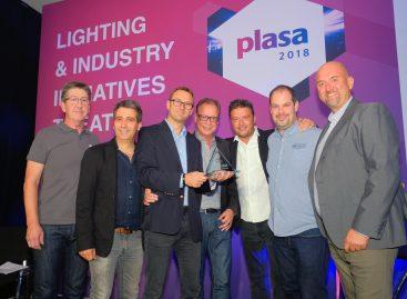 Robert Juliat SpotMe gana el Premio PLASA 2018 a la Innovación