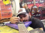 Personalización de instrumentos en Monster Guitar Lab.