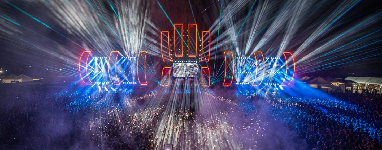 Robe ilumina Dreambeach 2018