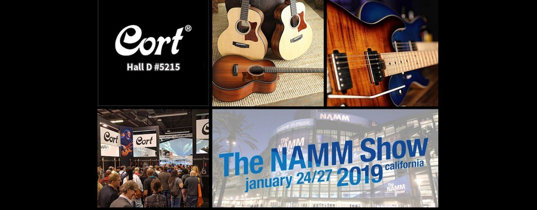 NAMM Show 2019: Cort Guitars inicia otro año en NAMM