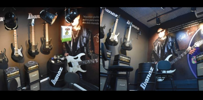 Escuela de música gana sala de la renombrada marca japonesa de guitarras Ibanez