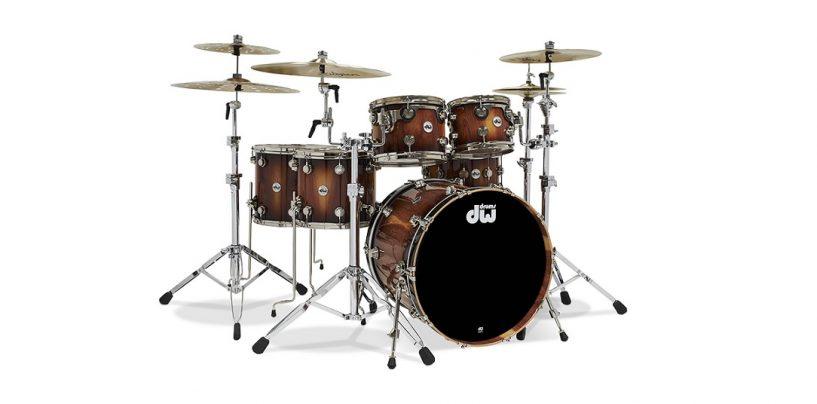 DW Crafts presenta su drumset Pure Almond