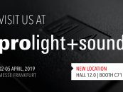 MA Lighting estará presente en Prolight + Sound 2019