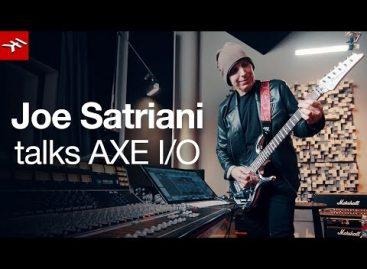 Joe Satriani se une a la familia de IK Multimedia