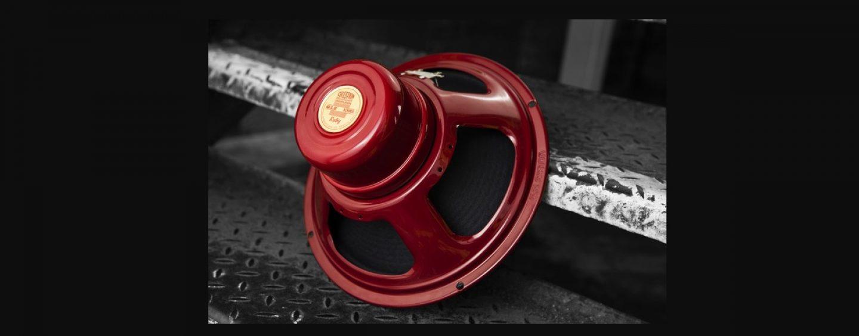 El altavoz de guitarra Ruby es uno de los productos más recientes de Celestion