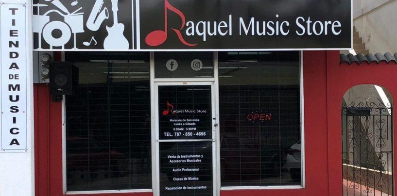 El trabajo de Raquel Music Store desde Humacao