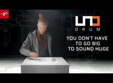 IK presenta UNO Drum, su caja de ritmos portátil