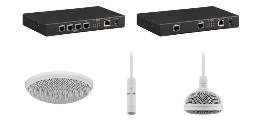 Audix lanza sistema de micrófono integrado Dante|AES67