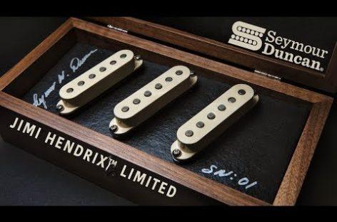 Seymour Duncan lanza las pastillas Jimi Hendrix Limited Hand Wound