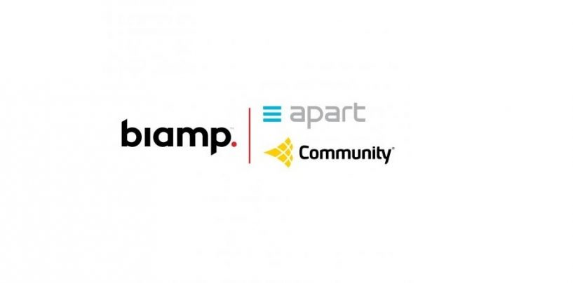 Biamp anuncia la adquisición de Community Loudspeakers y Apart Audio