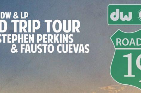 Fausto Cuevas y Stephen Perkins listos para el «DW & LP Road Trip Tour»