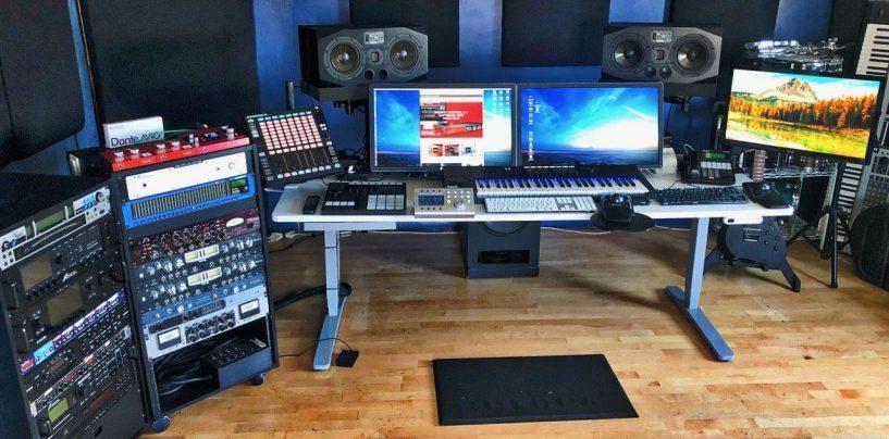 Bruce Somers equipa su nuevo estudio Undercurrent con tecnología Red y RedNet de Focusrite