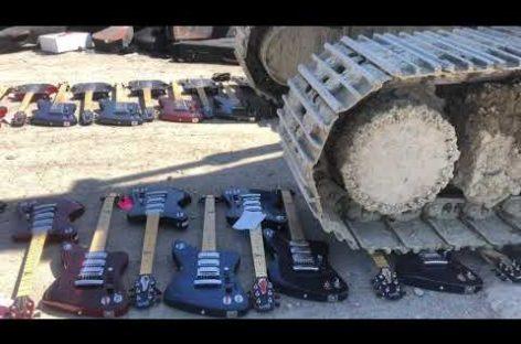 Gibson destruyó cientos de guitarras Firebird X