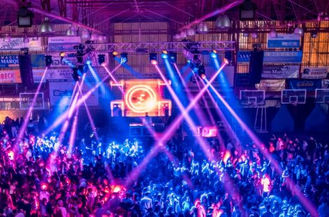 PR Lighting ilumina la fiesta 'Friendship' en Zarate