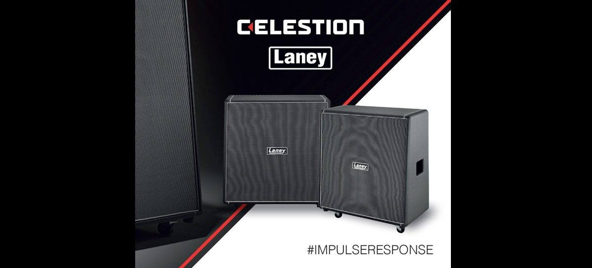 Celestion presenta la Laney Cabinets Collection de Impulse Responses