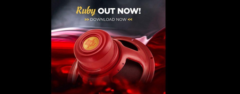 Celestion suma el altavoz de guitarra Ruby IR a su línea de Impulse Responses