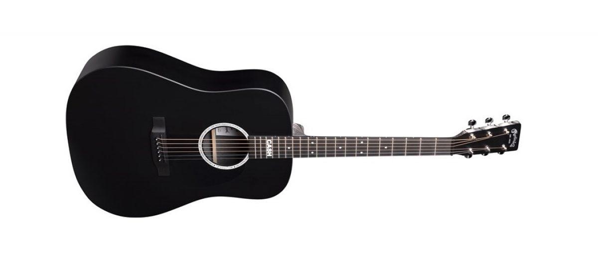 La DX Johnny Cash es la nueva guitarra de Martin Guitar y The Cash Foundation