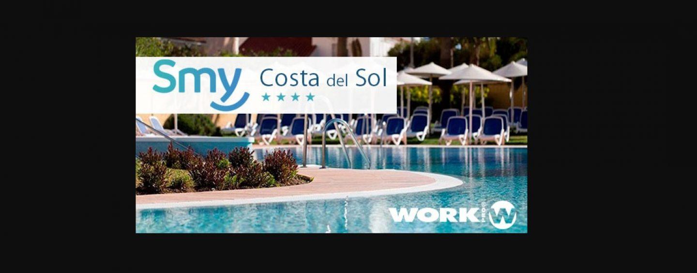 Hotel SMY Costa del Sol se equipa con WORK PRO
