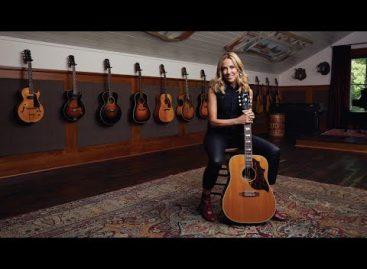 Gibson presenta la guitarra Sheryl Crow Country Western Supreme