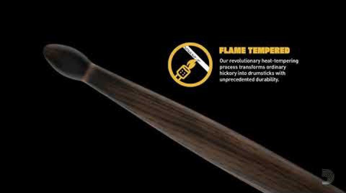 Promark arde con su baqueta Forward 5A FireGrain