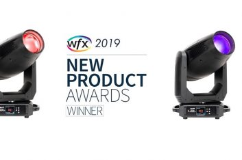 Luminaria Fuze Profile de Elation gana el premio al nuevo producto WFX 2019