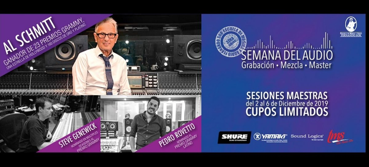 La Semana del Audio se celebra con Al Schmitt