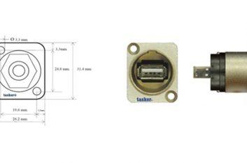 Tasker ha ampliado su gama de accesorios con nuevos conectores y adaptadores de panel