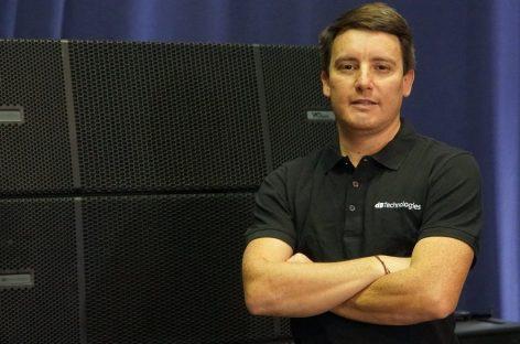 Jeans A. Carter L., es el nuevo gerente de Ventas para Latinoamérica de dBTechnologies