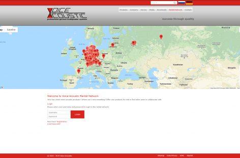 Voice-Acoustic amplía su oferta de servicios en su sitio web